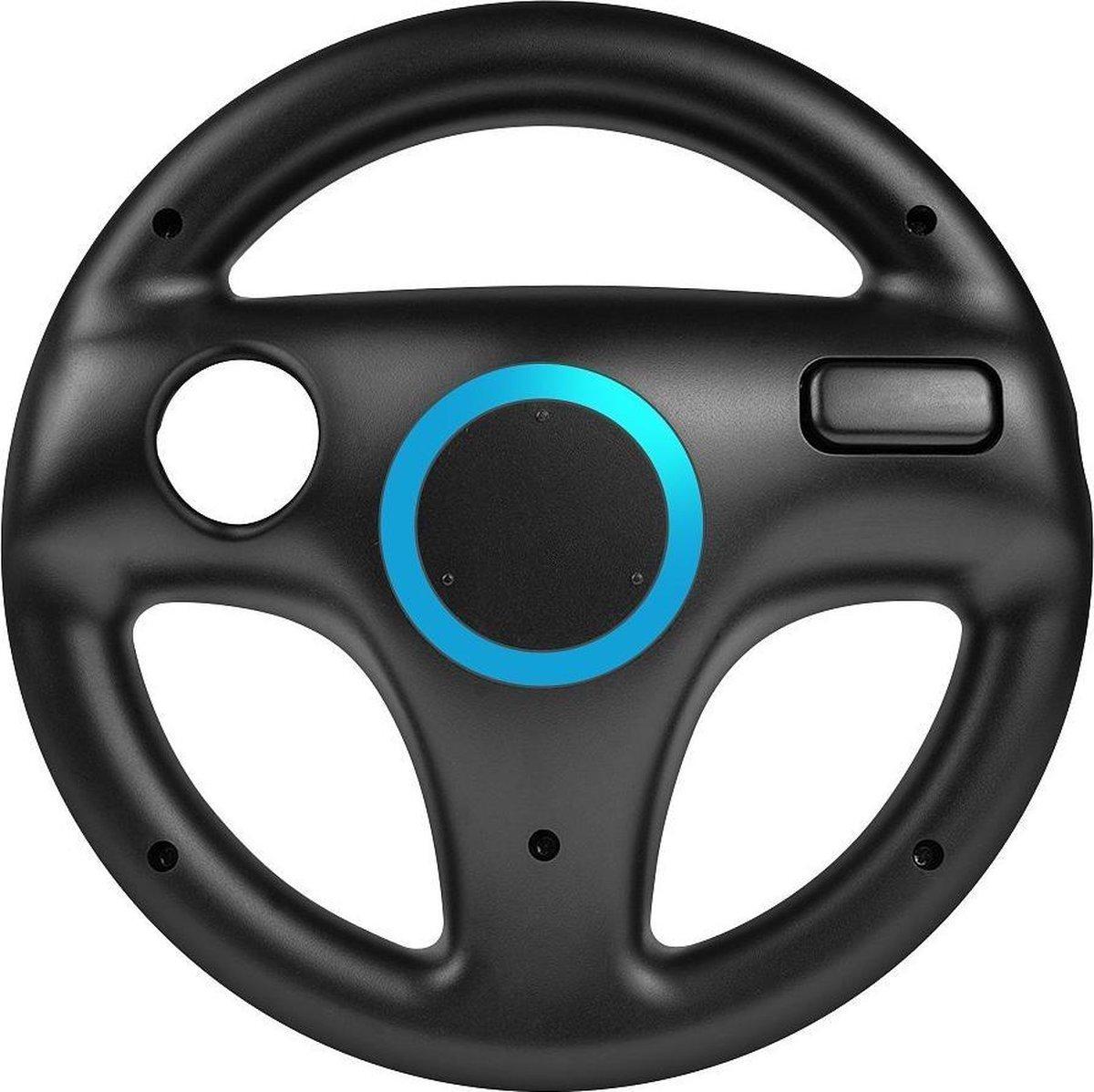 Nintendo Wii & Wii U  Controller Race Stuurwiel/Steering Wheel - Zwart