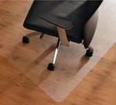 Plastic Vloerbeschermer - Vloer beschermende mat - Vloermat - Bureaustoel mat - Transparant 100 x 70 cm