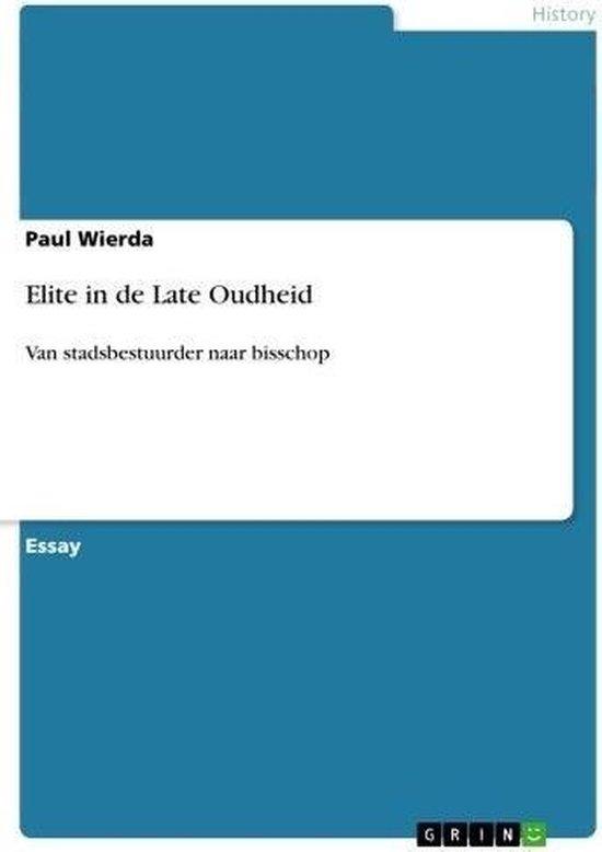 Elite in de Late Oudheid - Paul Wierda pdf epub