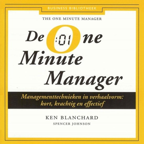 De One Minute Manager - Kenneth Blanchard |