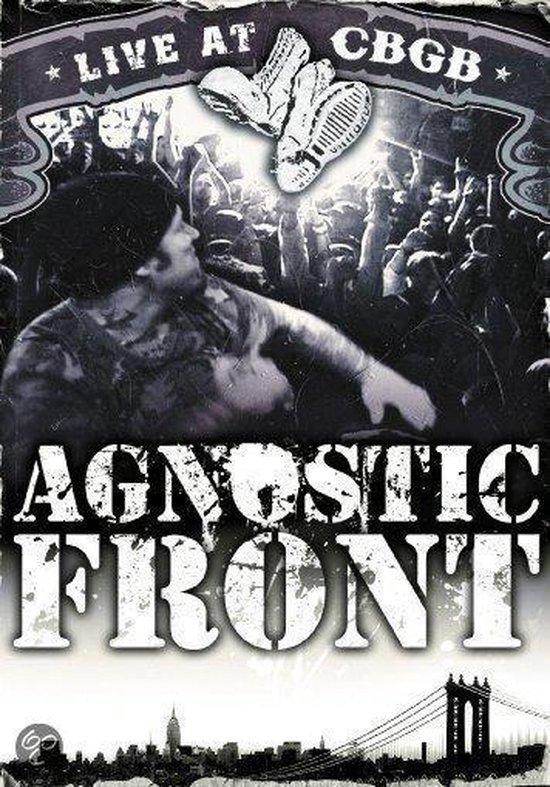 Cover van de film 'Agnostic Front - Live at CBCG'