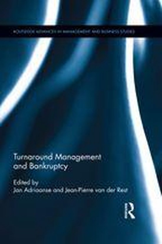 Boek cover Turnaround Management and Bankruptcy van  (Onbekend)
