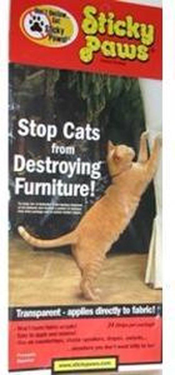 Bescherming tegen krab schade van katten Sticky Paws - Sticky Paws