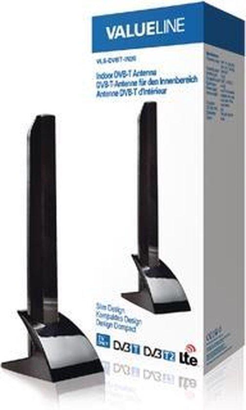 Indoor DVB-T/T2 - DAB+ Antenna 15 dB VHF / UHF