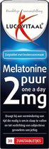 Lucovitaal Melatonine Puur 2mg One a Day Voedingssupplement - 30 zuigtabletten