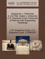 Assessors V. Osbornes {L.Ed.Title