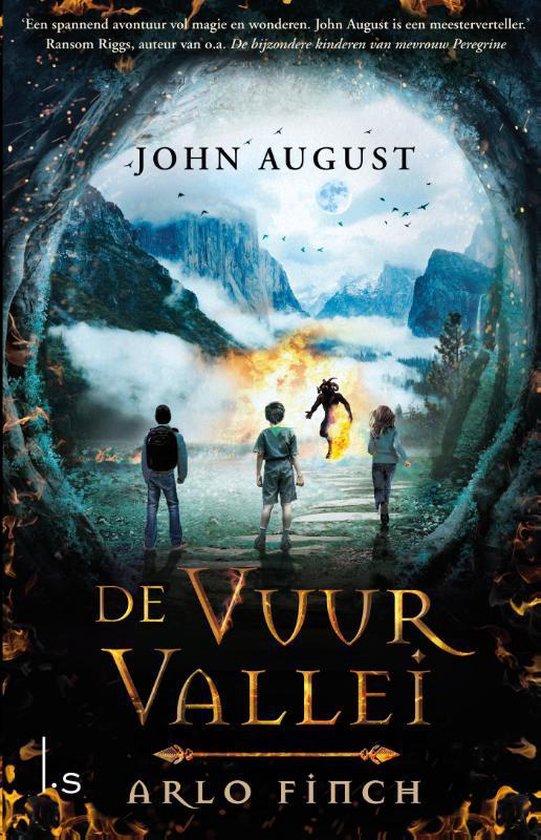 Arlo Finch 1 - De Vuurvallei - John August | Readingchampions.org.uk