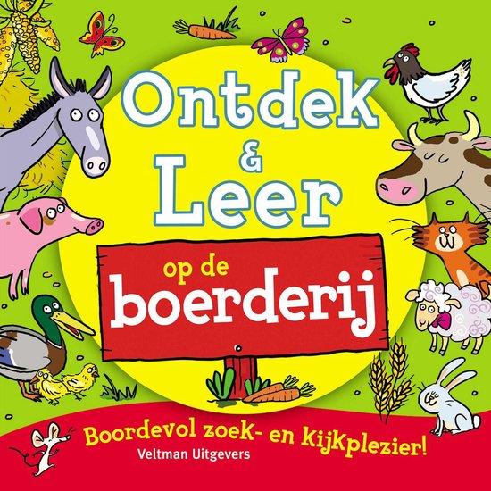 Ontdek en leer - Op de boerderij - Alexandra Koken |