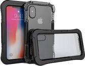 Apple iPhone X hoesje - Waterproof Case 10M - zwart