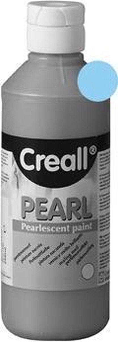 VERF CREALL PEARL BLAUW 250ML