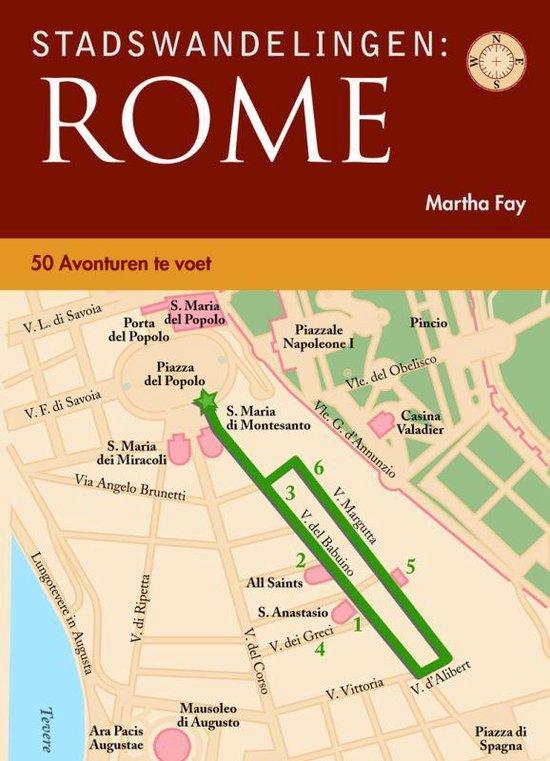 Cover van het boek 'Stadswandelingen Rome'