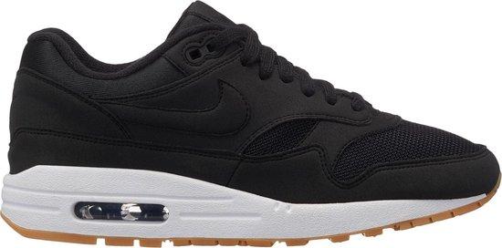 Nike Air Max 1 - Sneakers - Zwart/Wit/Gum - Maat 40.5