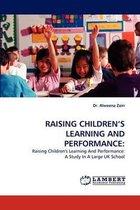 Omslag Raising Children's Learning and Performance
