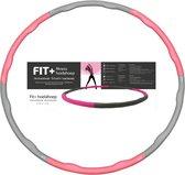 Sportbay FIT+ - Fitness hoelahoep - 1.5 kg - Ø 100 cm - Roze/Grijs
