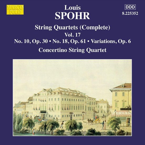 String Quartets Vol 17 (Nos. 10 And 18, Variations