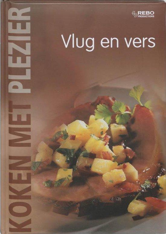Cover van het boek 'Koken met plezier / Vlug en vers'