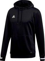 Adidas Team 19 Sweater Met Kap - Zwart / Wit   Maat: S