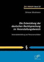 Die Entwicklung der deutschen Rechtsprechung im Veranstaltungsbereich