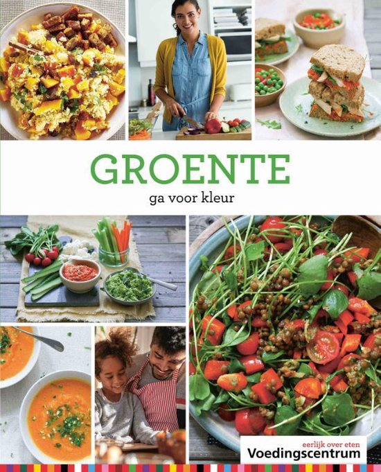 Boek cover Groente van Stichting Voedingscentrum Nederl (Hardcover)