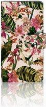 Telefoonhoesje LG Magna | G4C Book Case Hoesje Flowers