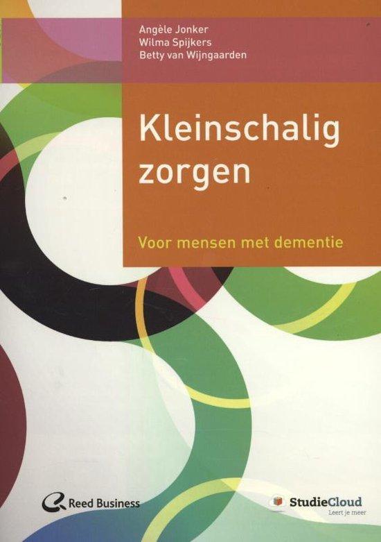 Kleinschalig zorgen - Angèle Jonker | Fthsonline.com