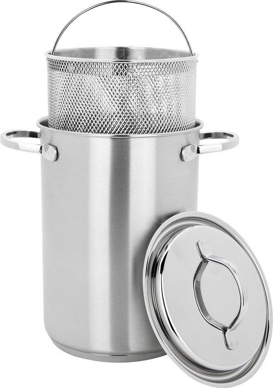 Demeyere Resto Aspergepan - Ø 16 cm - Zilver