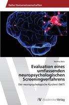 Evaluation eines umfassenden neuropsychologischen Screeningverfahrens