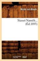 Siasset Nameh (Ed.1893)