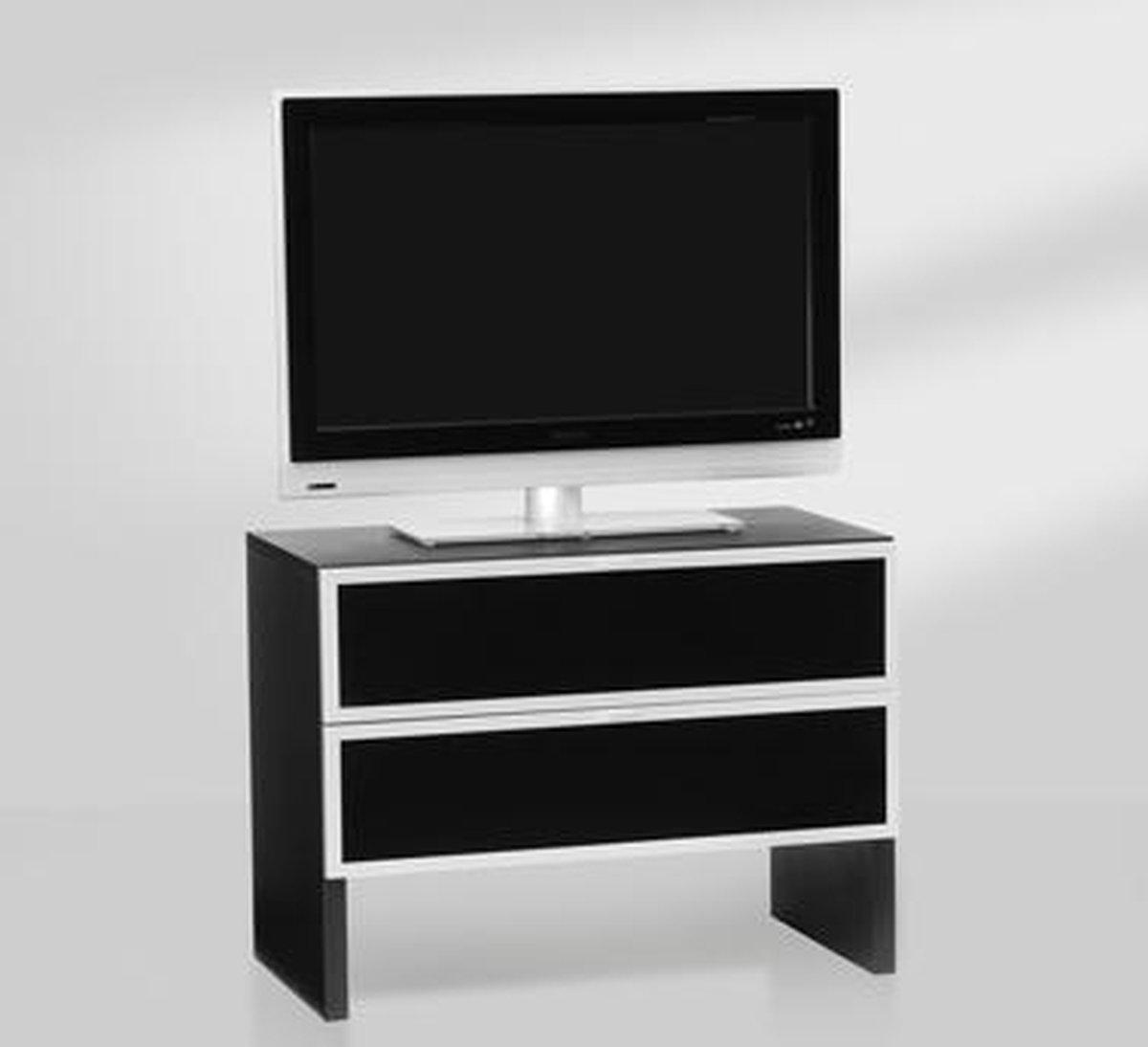 Aldenkamp Glazen Tv Meubel.Bol Com Aldenkamp Dutch Design Meubel Voor Led Tv A5728f 1 Zwart