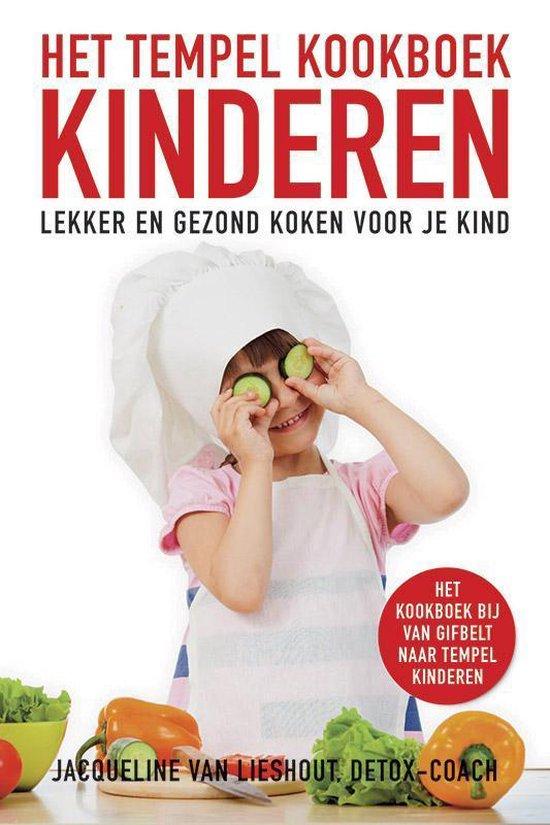 Boek cover Het Tempelkookboek kinderen van Jacqueline van Lieshout