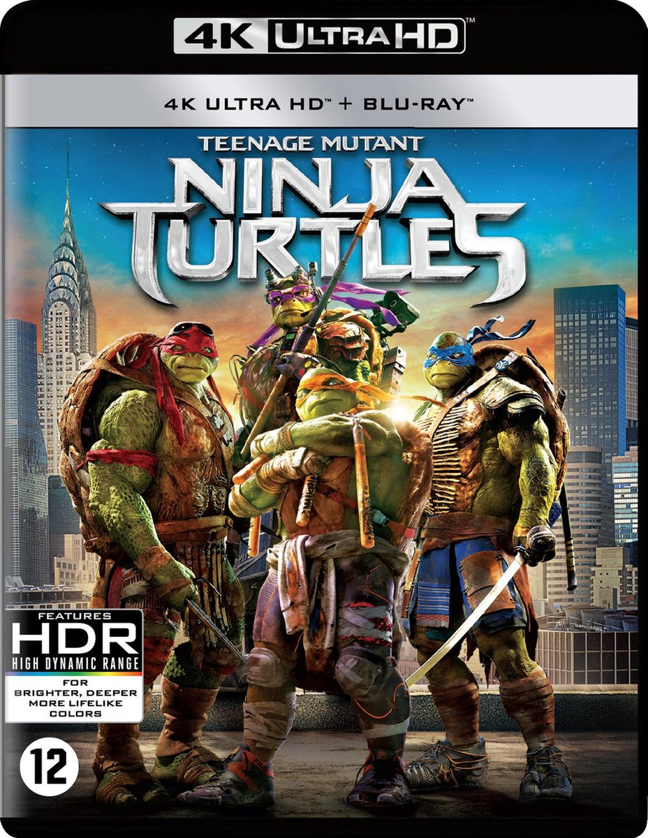 Teenage Mutant Ninja Turtles (4K Ultra HD Blu-ray)-