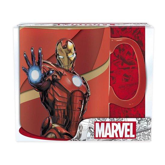 MARVEL - Mok - 460 ml - Iron Man Armored - Marvel