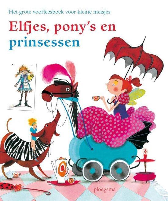 Boek cover Elfjes, ponys en prinsessen van Nannie Kuiper (Hardcover)