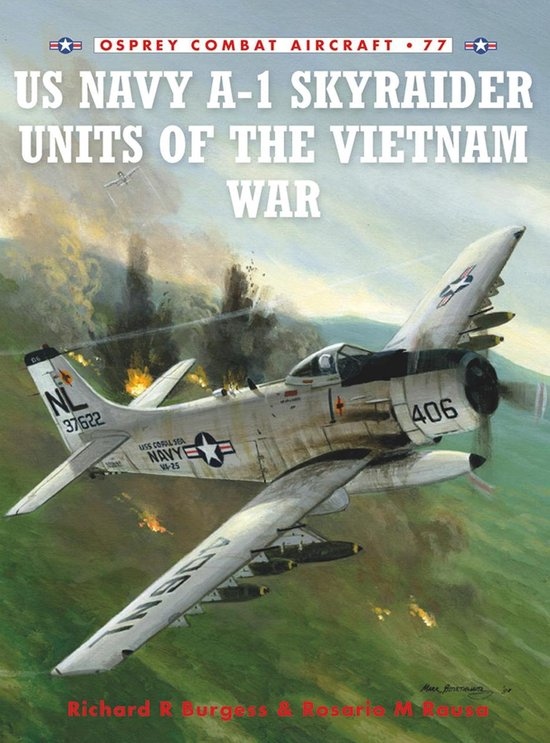 Boek cover US Navy A-1 Skyraider Units of the Vietnam War van Rick Burgess