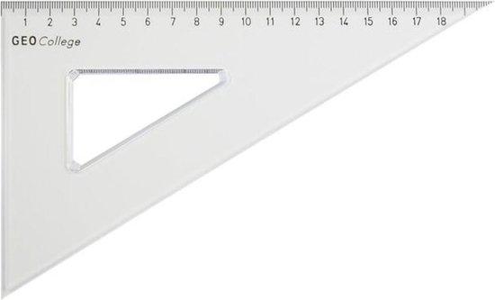 Afbeelding van Driehoek Aristo 200mm 30/60 graden transparant