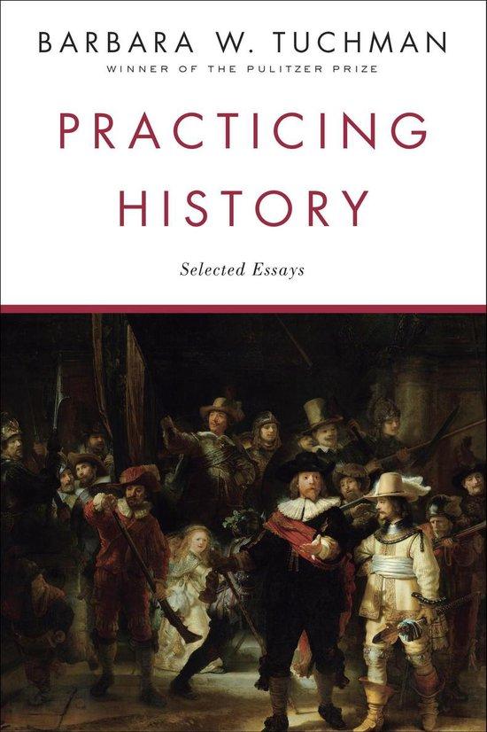 Boek cover Practicing History van Barbara W. Tuchman (Onbekend)