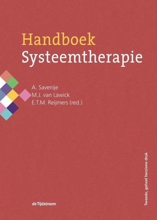 Boek cover Handboek systeemtherapie van Savenije (Hardcover)