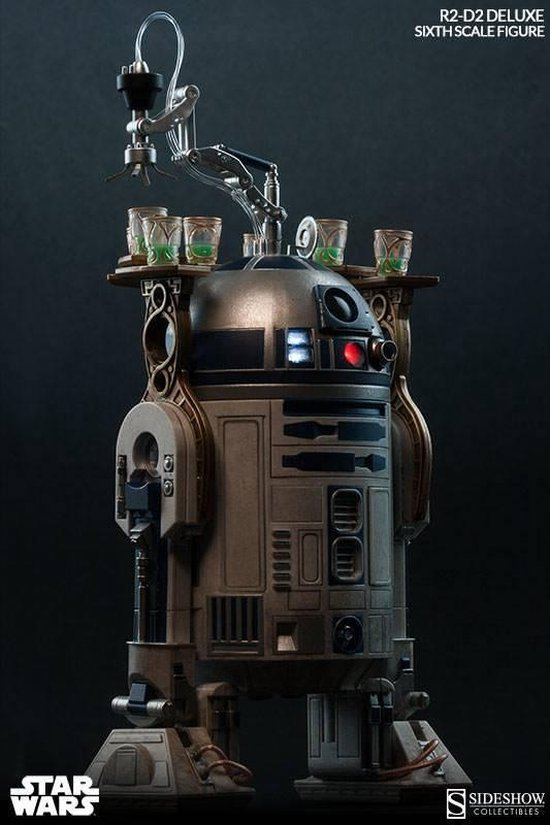 Star Wars: R2-D2 Deluxe Sixth Scale Figure - FANSSITE.BE