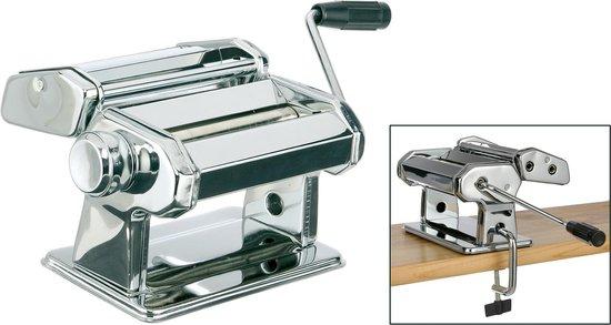 Pastamachine RVS - 150MM Rollerbreedte - Inclusief Tafelgreep
