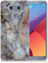 LG G6 TPU Hoesje Design Marmer Grijs