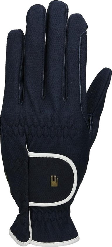 Roeckl Handschoenen  Bi Lined Lona - Dark Blue - 8