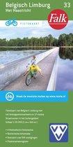 Falkplan fietskaart 33 - Belgisch Limburg