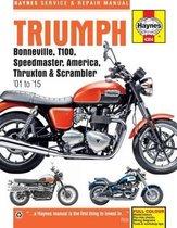 Triumph Bonneville, T100, Speedmaster, America, Thruxton & Scrambler (01 - 15)