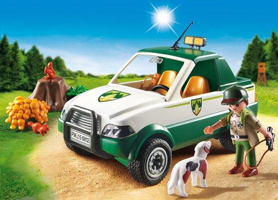 PLAYMOBIL Terreinwagen met boswachter - 6812