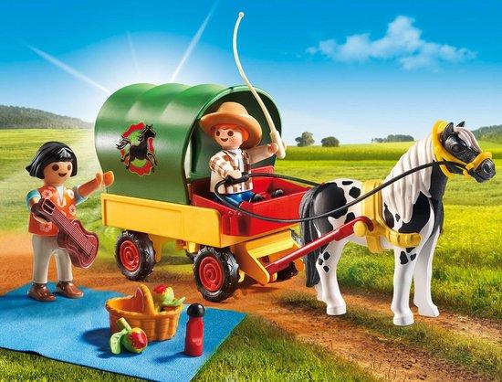 Playmobil Picknick met ponywagen - 6948 - PLAYMOBIL