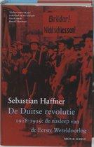 Boek cover De duitse revolutie 1918-1919: de nasleep van de Eerste Wereldoorlog van Sebastian Haffner (Hardcover)