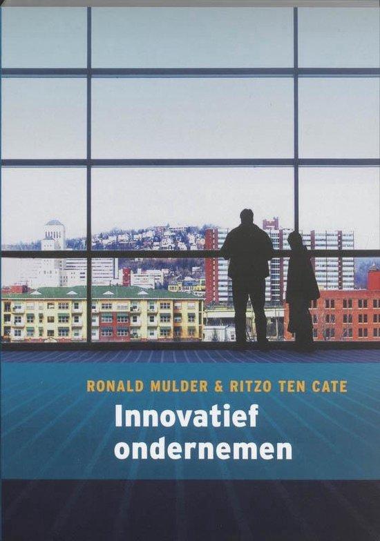 Innovatief ondernemen - Ritzo Ten Cate |