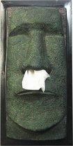 Rotary Hero Moai Tissue Box Cover - Tissuehouder - Grijs