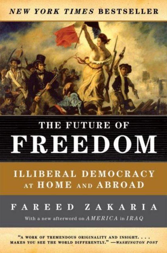 Boek cover The Future of Freedom van Fareed Zakaria (Paperback)