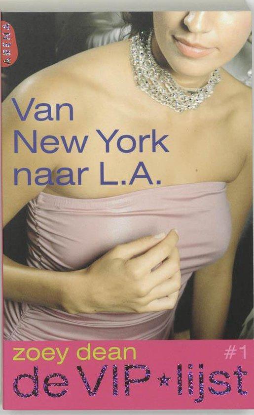 Cover van het boek 'Van New York naar L.A.'